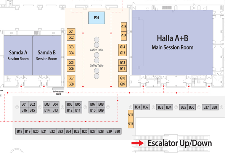Exhibition Booth Map